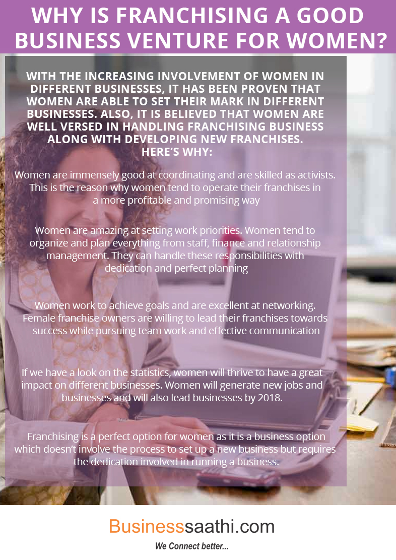 Why is Franchising a Good Business Venture for Women